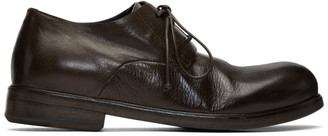 Marsèll SSENSE Exclusive Brown Zucca Media Derbys