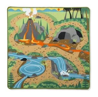 Melissa & Doug Dinosaur Activity Rug with 4 Figures
