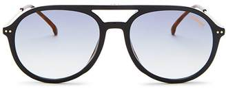 Carrera Men's Brow Bar Aviator Sunglasses, 53mm