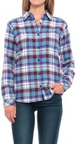 Dickies Plaid Flannel Shirt - Long Sleeve (For Women)