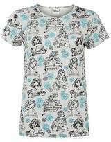 Character Womens T Shirt Tee Top Crew Neck Short Sleeve Print Summer Casual