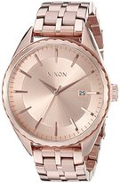 Nixon Women's A934897 Minx Analog Display Swiss Quartz Rose Gold Watch