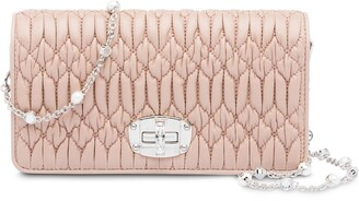 Miu Miu Leather wallet bag