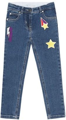 Stella McCartney Kids Stretch-cotton jeans
