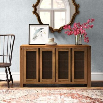 "August Grove Latulipe 58"" Wide 2 Drawer Sideboard"