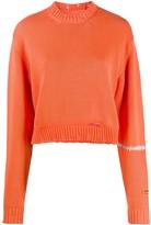 Heron Preston distressed knitted jumper