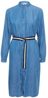 Saint Tropez Denim shirt dress - denim blue | large.