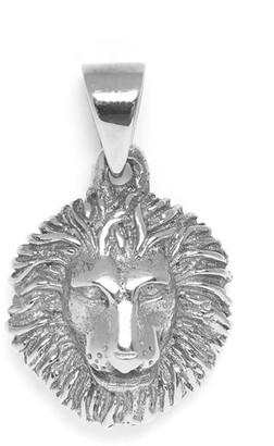 Mvdt Collection Lion Pendant Silver