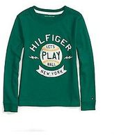 Tommy Hilfiger Little Boy's Long Sleeve Graphic Tee