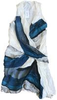 Helmut Lang White Silk Dresses