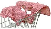 The Peanut Shell High Chair and Shopping Cart Cover in Coral Scallop