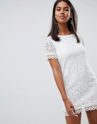 Rare London crochet lace shift dress