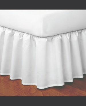 Fresh Ideas Magic Skirt Ruffled California King Bed Skirt Bedding