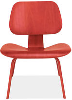 for Herman Miller® Eames® Molded Plywood Lounge Chair in Red with Wood Legs