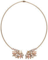 Marchesa Stone Cluster Collar Necklace