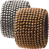Brass Beaded Bangle by SURevolution