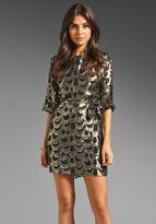 T-Bags LosAngeles Long Sleeve Mini Dress