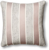 One Kings Lane Collection Blair 22x22 Striped Pillow, Gray