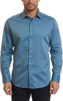 Robert Graham Hess Classic Fit Linen & Silk-Blend Woven Shirt