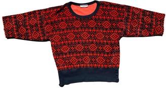 Sonia Rykiel Red Cotton Knitwear for Women Vintage
