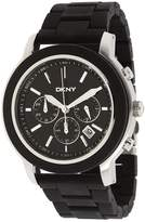 DKNY Men's NY1493 Plastic Quartz Watch with Dial