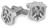 Torrini Sterling Silver Eagle-Crest Cufflinks