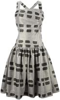 Vivienne Westwood printed flared dress