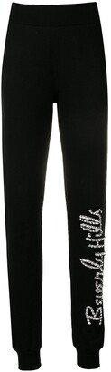 Philipp Plein Embellished Track Trousers