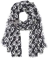 Maison Scotch Women's Scarf with Various Allover Prints Towels