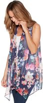 M&Co Sleeveless floral cover up