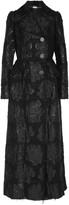 Alexander McQueen Metallic bouclé-jacquard coat