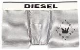 Diesel Dyed Stripe Dirck Trunks