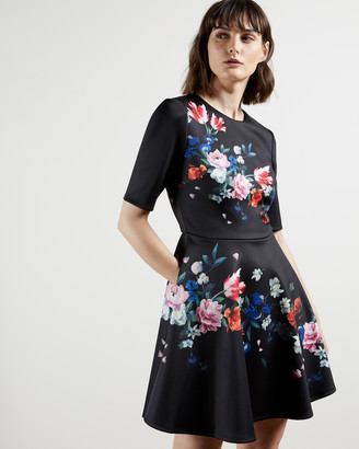 Ted Baker ZALENA Sandalwood skater dress