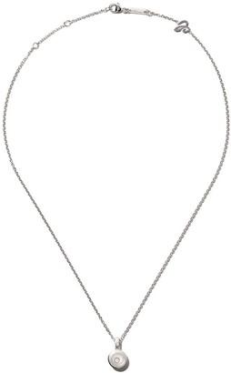Chopard 18kt white gold Happy Diamonds Icons pendant necklace