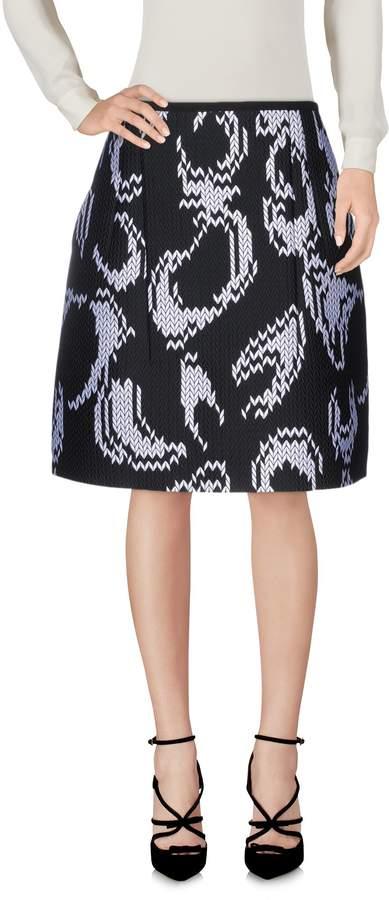 Odeeh Knee length skirts - Item 35288799