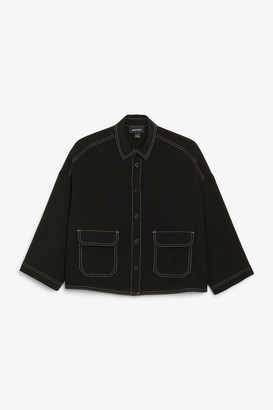 Monki Wide-sleeved blouse