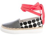 Pierre Hardy Ankle-Wrap Printed Sneakers