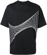 Diesel Black Gold net print T-shirt