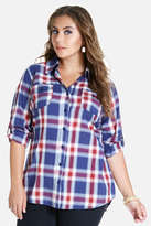 Fashion to Figure Beatnik Plaid Tunic