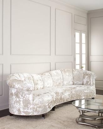 Haute House Lizette Channel Tufted Sofa