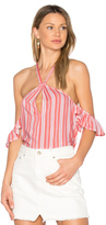 MinkPink Haiti Cold Shoulder Top