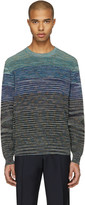 Missoni Blue Knit Pullover