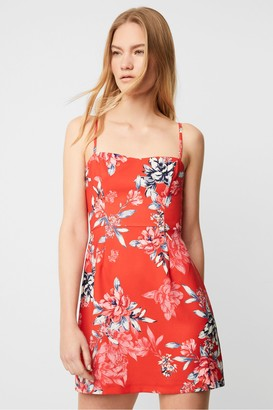 French Connection Coletta Printed Whisper Sweetheart Dress