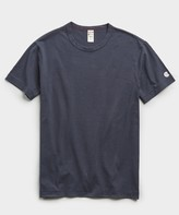 Todd Snyder + Champion Champion Basic Jersey Tee in Navy