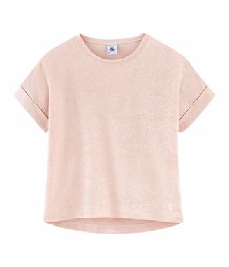 Petit Bateau Girls' Aisv Ts Mc T-Shirt