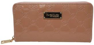 Bebe Dana Embossed Patent Wallet