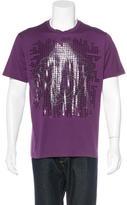 Versace Palazzo Graphic Print T-Shirt w/ Tags