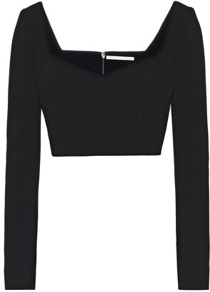 Emilia Wickstead Jules stretch-jersey top