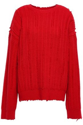 RtA Distressed Knitted Sweater