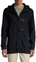 7 For All Mankind Canvas Toggle Hooded Field Jacket